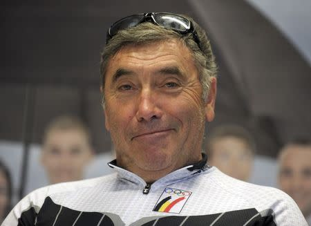Merckx and Ickx feted as Belgium's speed demons
