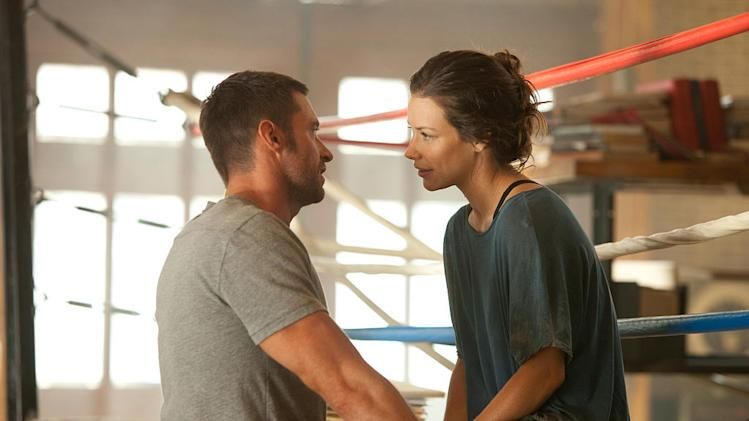 Real Steel 2011 Dreamworks Hugh Jackman Evangeline Lilly