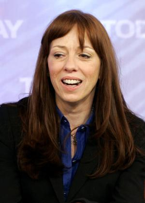 """** FILE ** In this Feb. 26, 2008 file photo, Mackenzie Phillips, of the 1970's sitcom """"One Day at a Time,"""" appears on the the NBC """"Today"""" television program in New York. A young star of the TV series, Phillips was arrested in 1977 for public drunkenness and cocaine possession. She was fired from the show and struggled with addiction for years. (AP Photo/Richard Drew, File)"""
