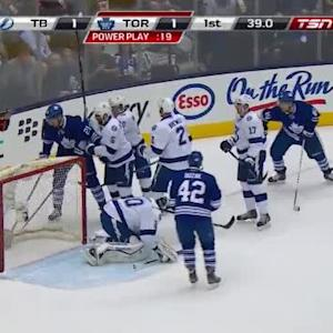 Ben Bishop Save on James van Riemsdyk (19:30/1st)