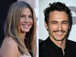 Jennifer Aniston and James Franco -- Getty Images