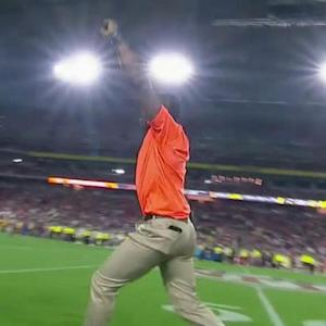 NFL Media's Michael Irvin goes berserk after incomplete Cincinnati Bengals quarterback Andy Dalton pass