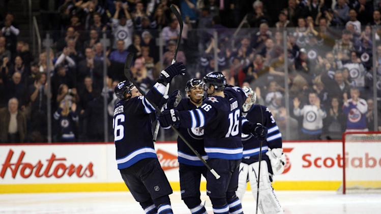 NHL: Tampa Bay Lightning at Winnipeg Jets