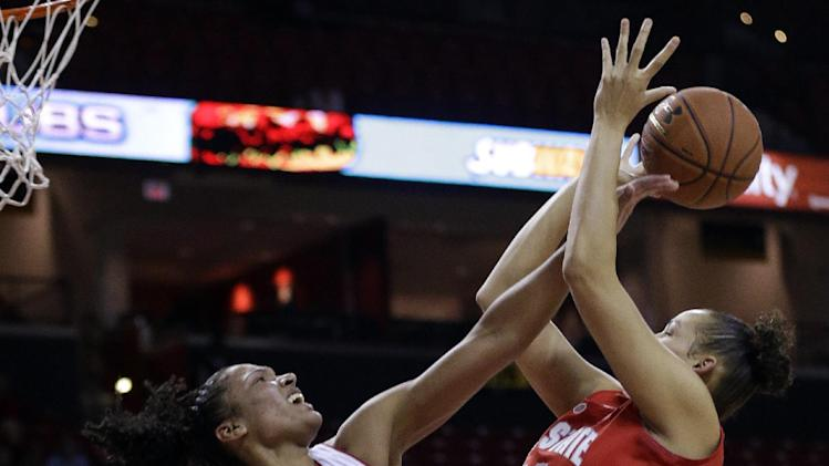 No. 8 Maryland women beat Ohio State 67-55