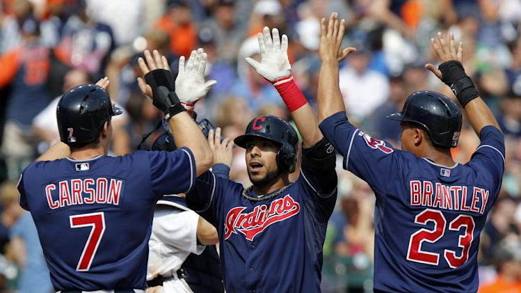Aviles' grand slam lifts Indians over Tigers 4-0