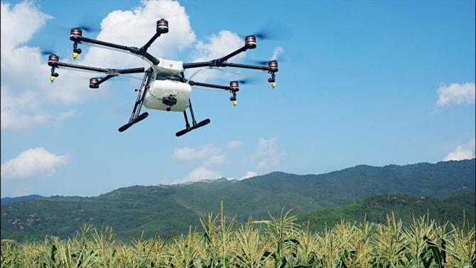 DJI Bets on Agricultural Drones