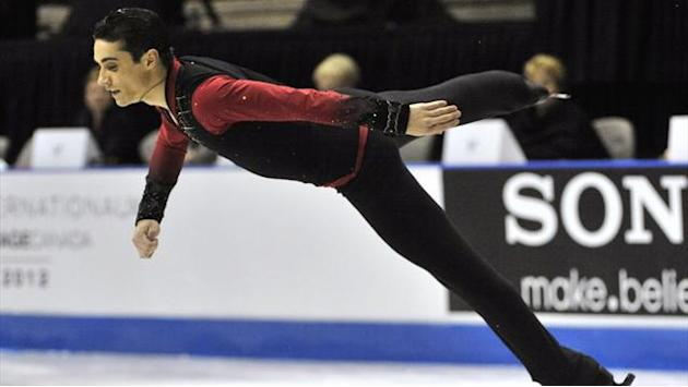 Figure Skating - Fernandez leads Chan at Skate Canada