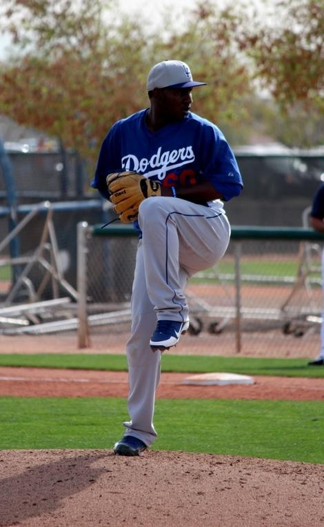 Pedro Baez, Converted Third Baseman, Impresses on Mound in Minor-league Game