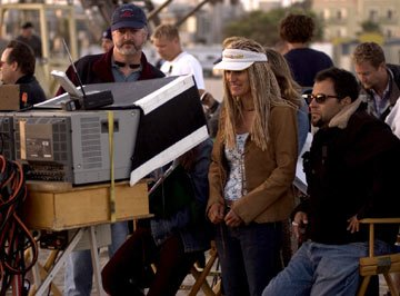 Director Catherine Hardwicke on the set of Columbia Pictures' Lords of Dogtown