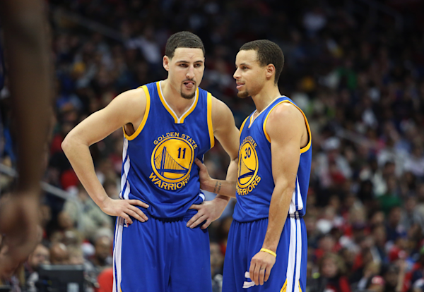 Origin of Stephen Curry's and Klay Thompson's 'Splash Brothers' nickname - Yahoo Sports