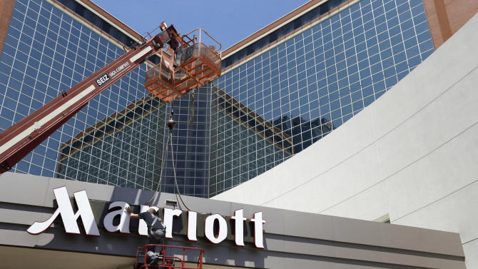 Marriott's earning rise on higher rates, occupancy