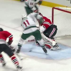 Parise jams PPG past Crawford