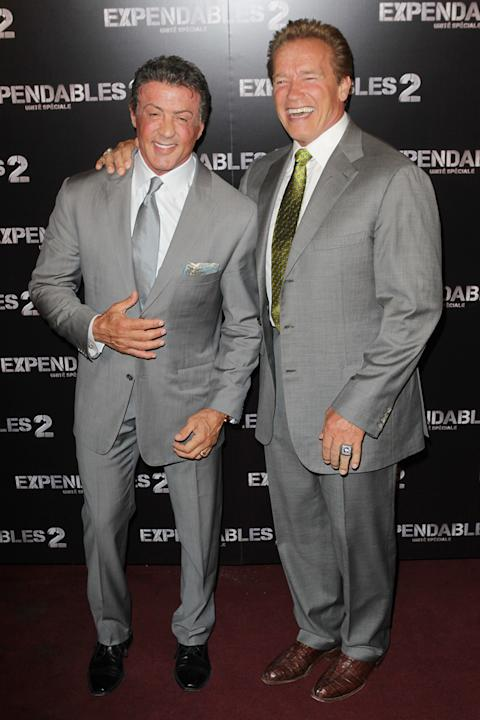 The Expendables 2 paris premiere