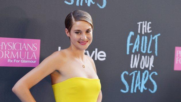 Shailene Woodley on June 2, 2014 in New York City -- Getty Images