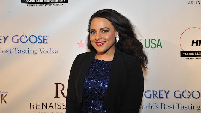 Marsha Ambrosius is seen at the Hip-Hop Inaugural Ball on Sunday, Jan. 20, 2013 in Washington. (Photo by Larry French/Invision/AP)
