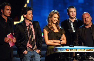 Julian McMahon, Ioan Gruffudd, Jessica Alba, Chris Evans and Michael Chiklis