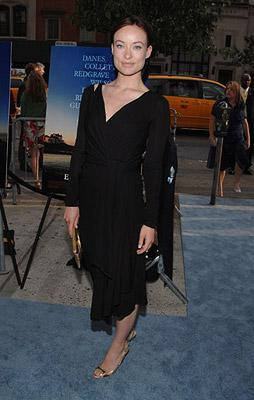Olivia Wilde at the New York premiere of Focus Features' Evening