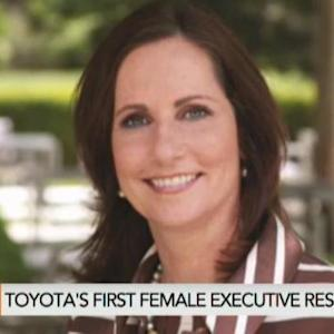 Toyota's First Female Executive Resigns
