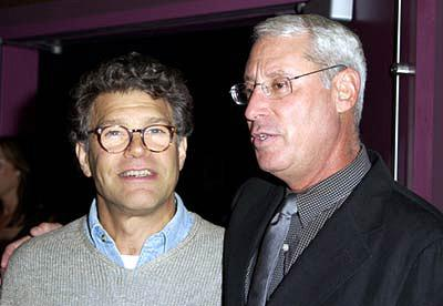 Premiere: Al Franken and Henry S. Schleiff at a New York screening of MGM's Bandits - 9/25/2001