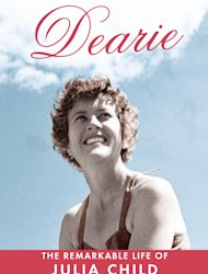 This book cover image released by Alfred A. Knopf shows &quot;Dearie: The Remarkable Life of Julia Child&quot; by Bob Spitz. (AP Photo/ Alfred A. Knopf)