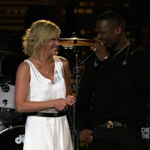 Chelsea Handler's Awkward Reunion With 50 Cent