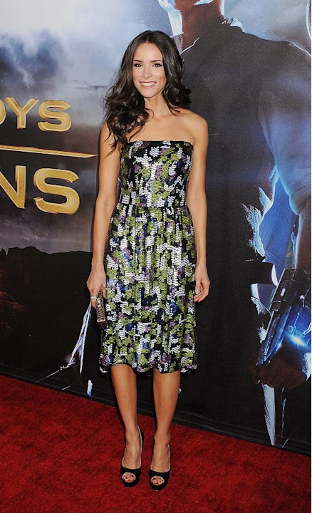 Cowboys and Aliens SD Premiere 2011 Abigail Spencer