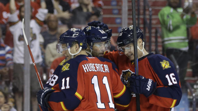 Panthers' Jagr moves into 5th place on NHL career list