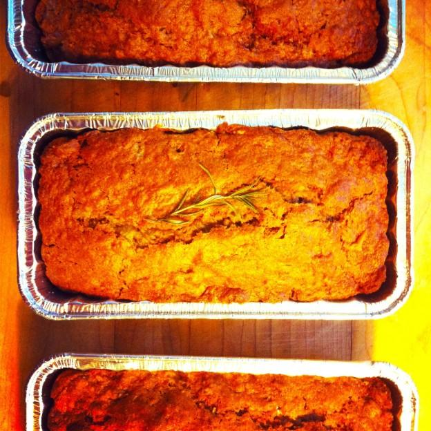 Orange Rosemary Quick Bread