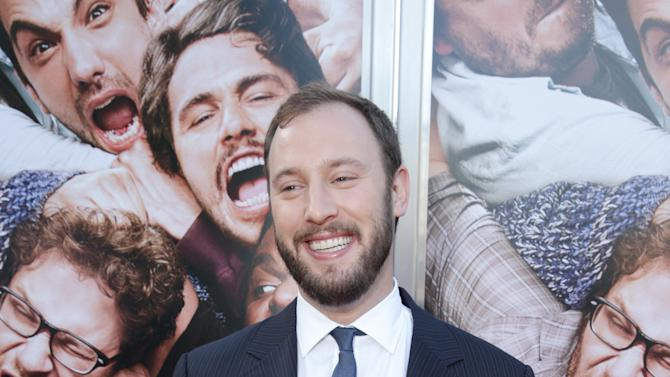 Director/Producer/Writer Evan Goldberg at Columbia Pictures 'This is The End' Premiere on Monday, June, 3, 2013 in Los Angeles. (Photo by Eric Charbonneau/Invision for Columbia Pictures/AP Images)