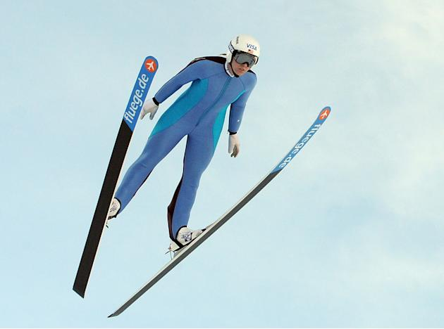 Visa Women's Ski Jumping Team - Training