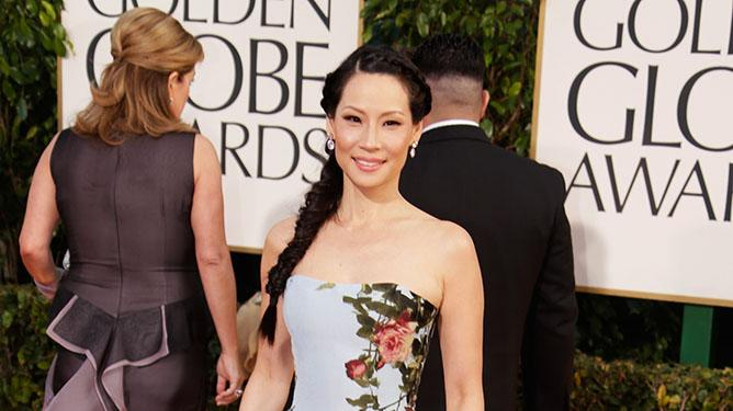 70th Annual Golden Globe Awards - Arrivals: Lucy Liu