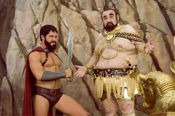 Sean Maguire and Kenneth Davitian in 20th Century Fox's Meet the Spartans
