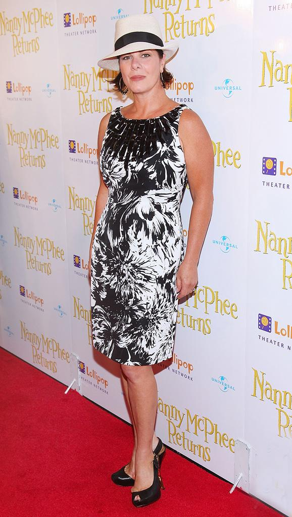 Nanny McPhee Returns 2010 NYC Premiere Marcia Gay Harden