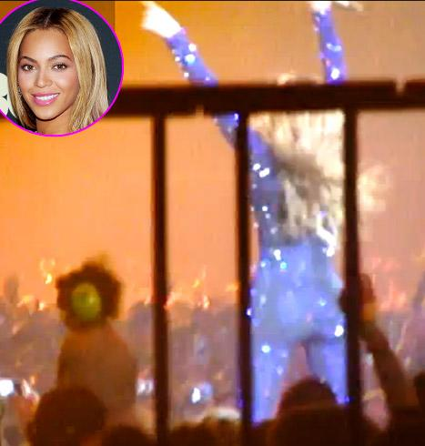 Beyonce Brings Todder Onstage During Concert, Says She Wants More Kids