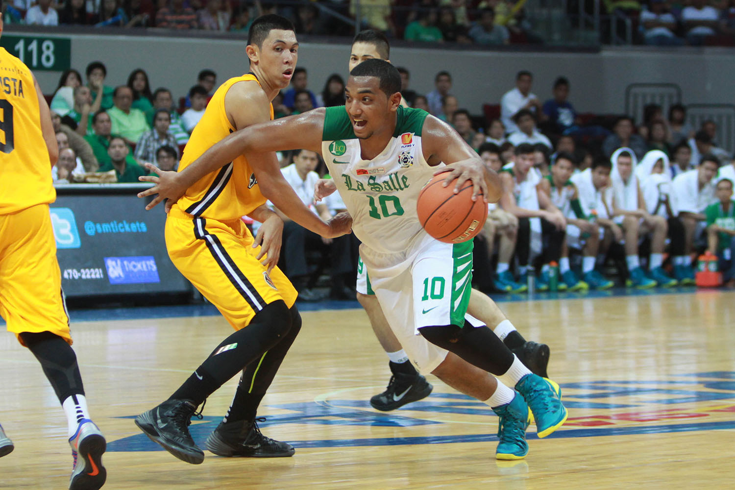 Perkins has come up big for La Salle in their wins. (Photo Credit: Yahoo! Sports PH)