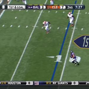 Flacco to Juszczyk for a 9-yard touchdown