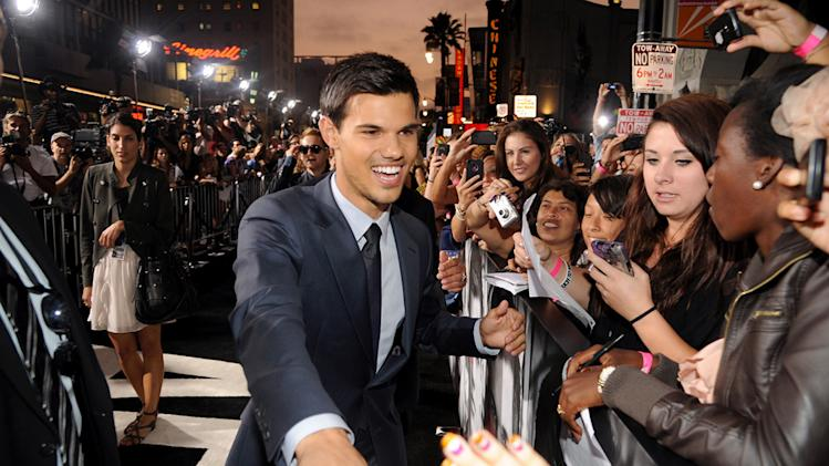 Abduction LA Premiere 2011 Taylor Lautner