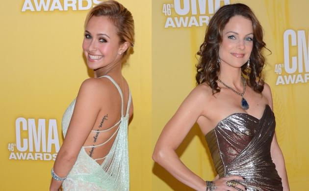 Hayden Panettiere, Kimberly Williams-Paisley -- Getty Images