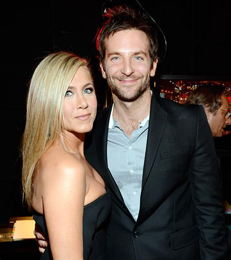 Jennifer Aniston Bumps Into Ex Bradley Cooper