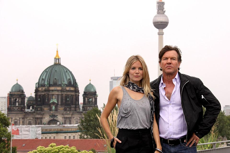 GI Joe Berlin Photocall 2009 Sienna Miller Dennis Quaid