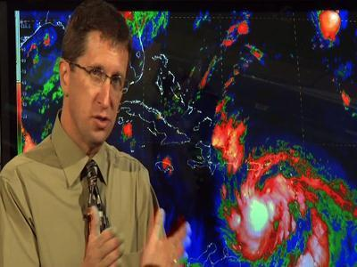 Forecaster: 'Just can't pinpoint' Isaac's track