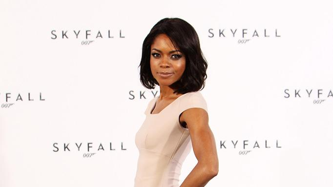 Skyfall press conference 2011 Naomie Harris