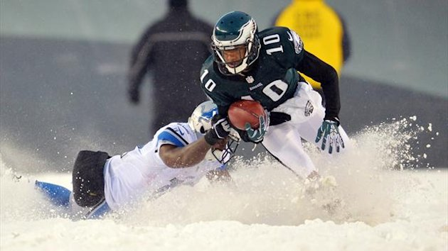 NFL in the snow