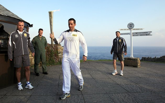 Olympic Torch Relay - Day One