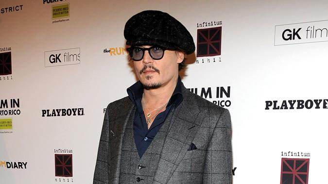 The Rum Diary NY Premiere 2011 Johnny Depp