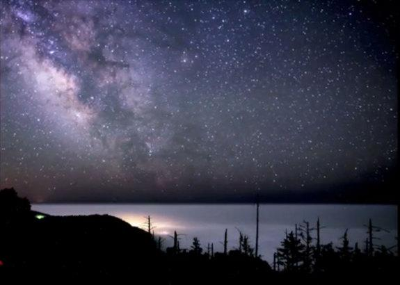 Watch the Milky Way Shine Over California's King Range in This Awesome Video
