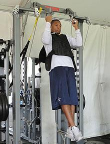 Personalized training valuable during lockout