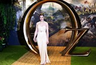 Actress Rachel Weisz poses for photographers at the European premier of Oz: The Great and Powerful in London February 28, 2013. REUTERS/Neil Hall
