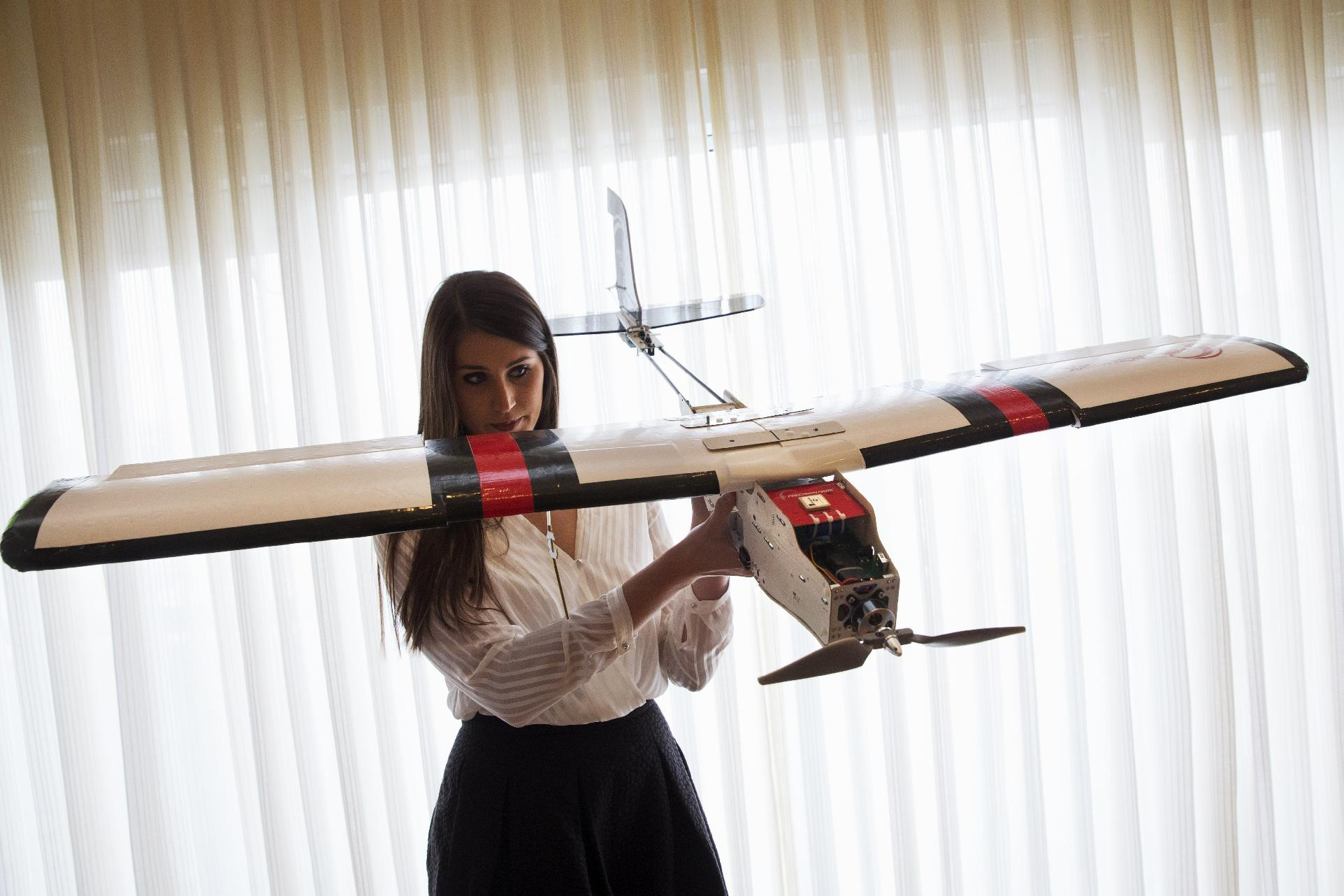 Unmanned drones could play key roles in food supply