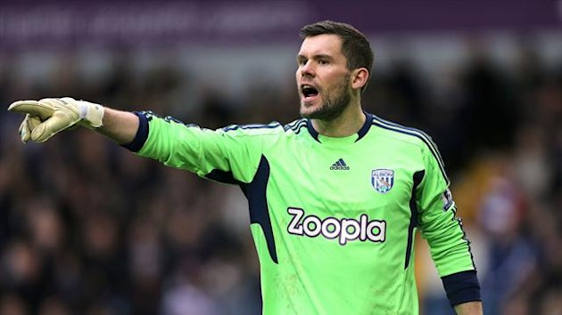 Ben Foster has been in fine form for West Brom this season